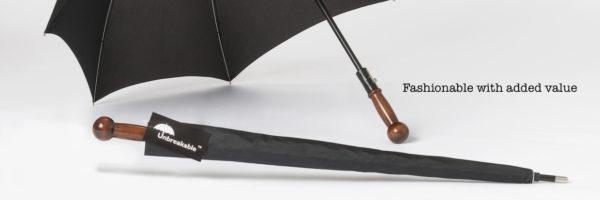 Ashwwod Handle of Unbreakable® Umbrella U-101 Premium